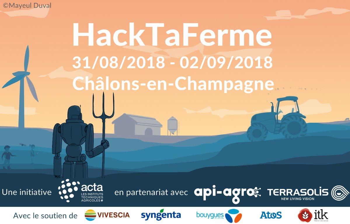 HackTaFerme J-9 : des idées, des projets, des prix, des sponsors et vous ?
