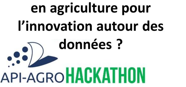 Quel apport des hackathons en agriculture pour l'innovation autour des données ?